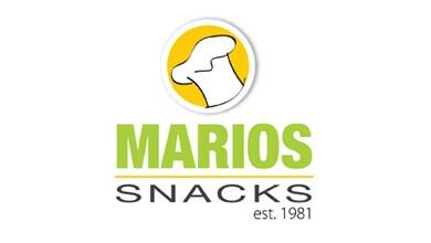 Marios Snacks Logo